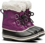 Sorel Youth Pac Nylon Vinterstøvler, Wild Iris/Dark Plum
