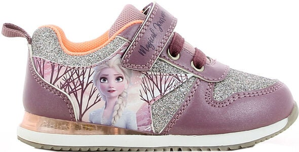Disney Frozen Blinkende Sneakers, Old Pink