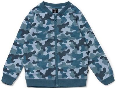 fbcefc4d Køb Luca & Lola Azzurro Jakke, Blue Camouflage | Jollyroom