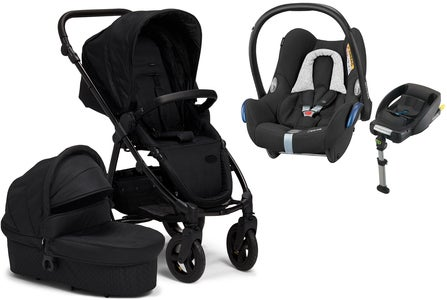 Petite Chérie Heritage 2020 Duovogn inkl. Travelsystem Maxi Cosi, Black