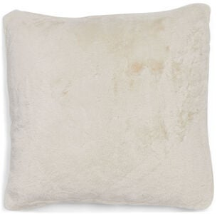 Furry Pude 45x45, Cream
