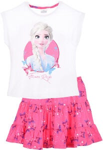 Disney Frozen T-Shirt & Nederdel, White