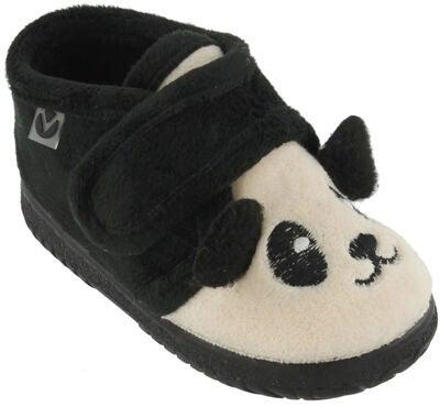 2ba661b624e Køb Victoria Bota Velcro Animales Hjemmesko, Black | Jollyroom