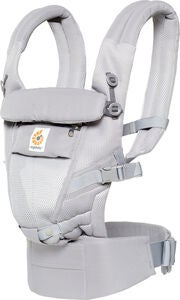 Ergobaby Adapt Bæresele Cool Air Mesh, Pearl Grey