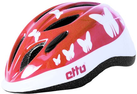 Etto Safe Ride Cykelhjelm, Happy Butterfly
