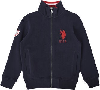 U.S. Polo Assn. USPA Funnel Fleecetrøje, Navy