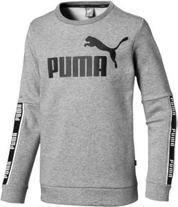 Puma Amplified Crew Trøje, Medium Grey Hea