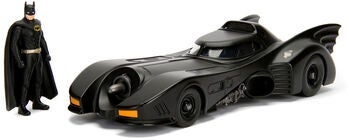Batman 1989 Batmobile m. Figur