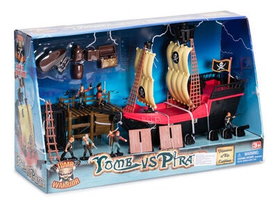 Fantasy Playworld Pirate Ship Legesæt