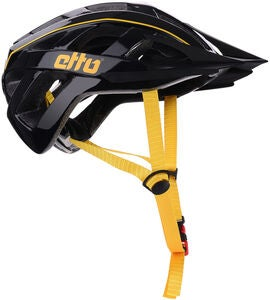 Etto Champery Jr MIPS Cykelhjelm, Black/Yellow