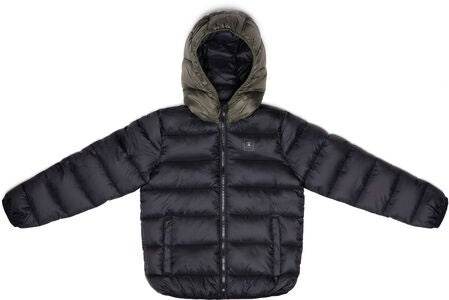 Champion Kids Hooded Jakke, Black Beauty