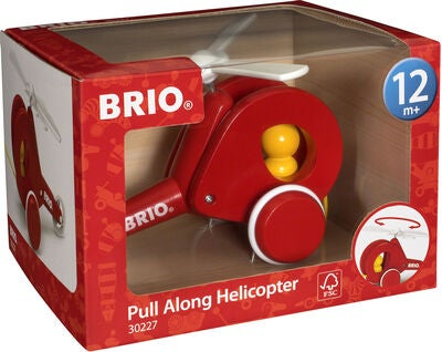 BRIO 30227 Pull Along Helikopter