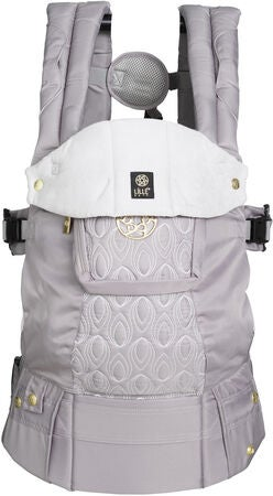 Lillebaby Complete Embossed Luxe Bæresele, Pewter