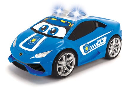Dickie Toys Happy Lamborghini Huracan Police m. Fjernstyring