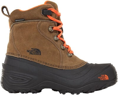 58944fe5fab The North Face Youth Chilkat Lace II Vinterstøvler Junior, Tarmac  Green/Scarlet Ibis