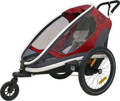 Hamax Outback One 2 in 1 Sportspakke, Red/Grey/Black