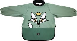babyLivia Langærmet Hagesmæk Fox, Powder Green
