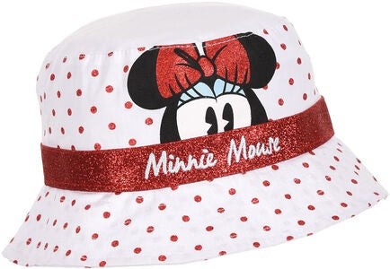 Disney Minnie Mouse Hat, White