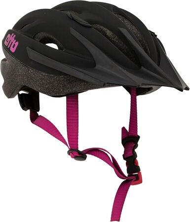 Etto Shark Cykelhjelm, Black/Pink Matt | Helmets