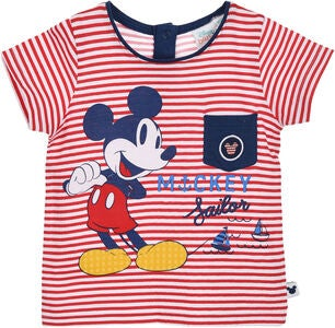 Disney Mickey Mouse T-Shirt, Red