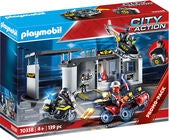 Playmobil 70338 Legesæt Tactical Unit Headquarters I Taske
