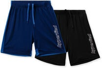 Hyperfied Flip Shorts 2-pak, Black/Blueprint