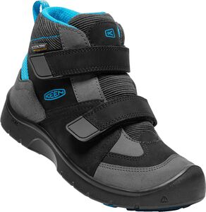 KEEN Hikeport Mid WP Støvler, Black/Blue Jewel