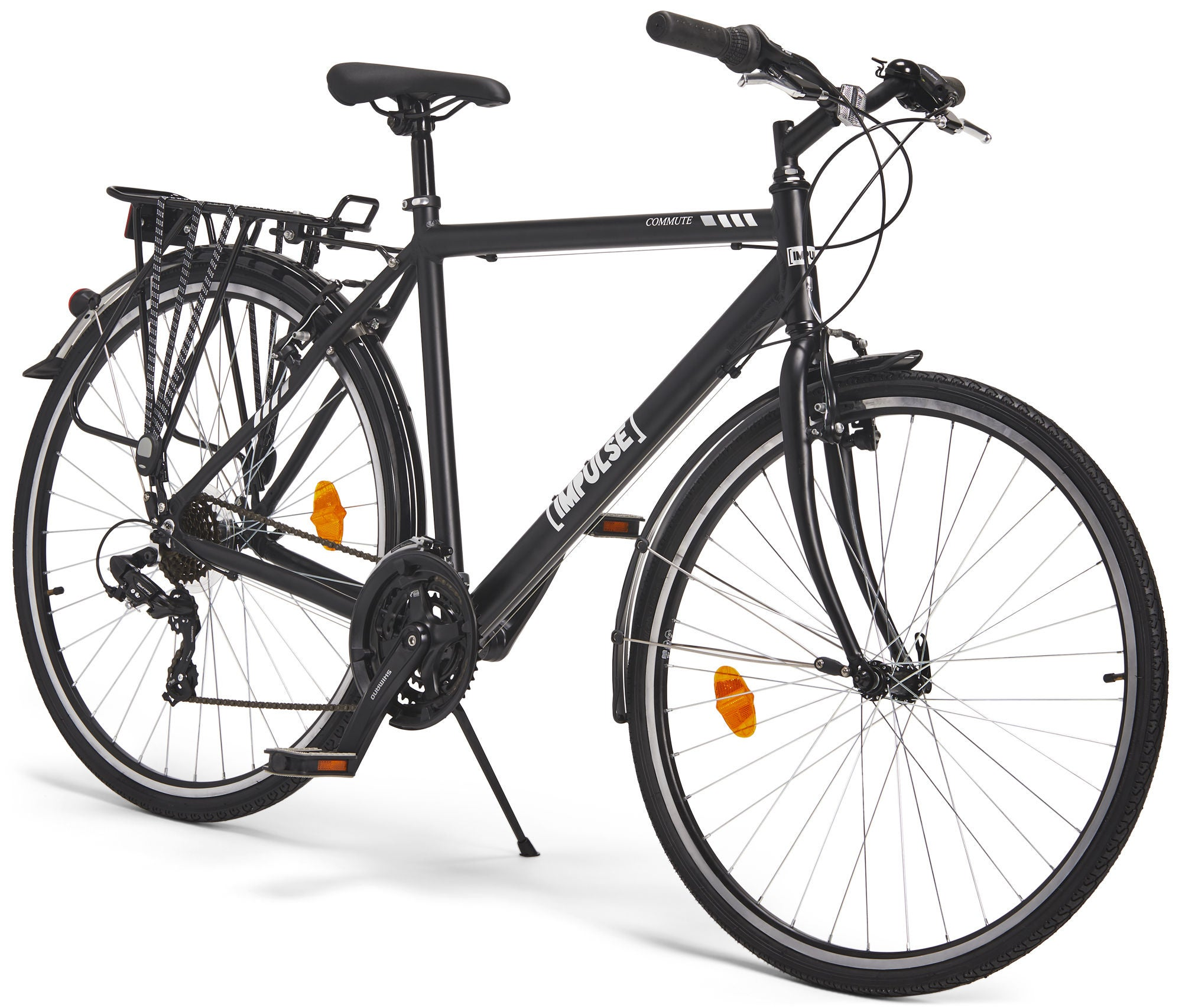Impulse Premium Commute Cykel 28 Tommer, Black | City