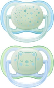 Philips Avent Ultra Air Night Time Sut 0-6m, Blå