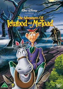 Disney Adventures Of Ichabod & Mr Toad DVD