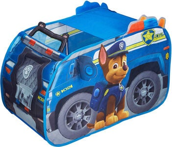 Paw Patrol Legetelt Chase Bil Pop-Up