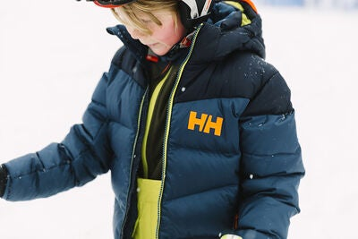 dd2ffe8f Køb Helly Hansen Isfjord Down Mix Jakke, Dark Teal | Jollyroom