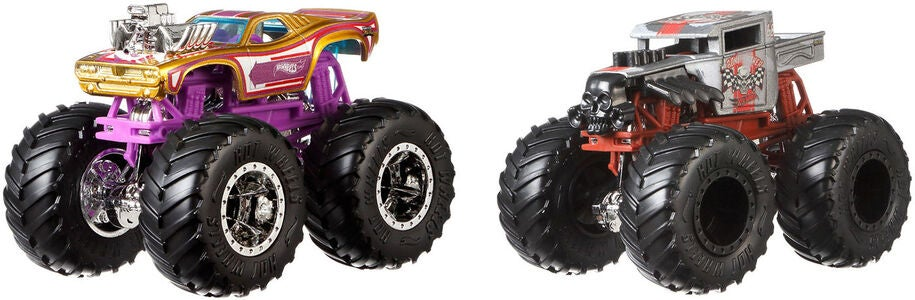 Hot Wheels Monster Trucks 1:64 2-pak