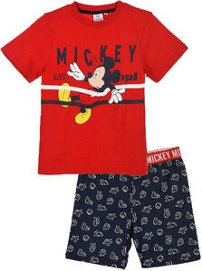 Disney Mickey Mouse Pyjamas, Red