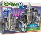 Wrebbit New York Financial District 3D Puslespil