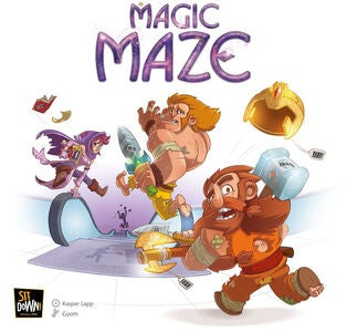 Magic Maze Familiespil