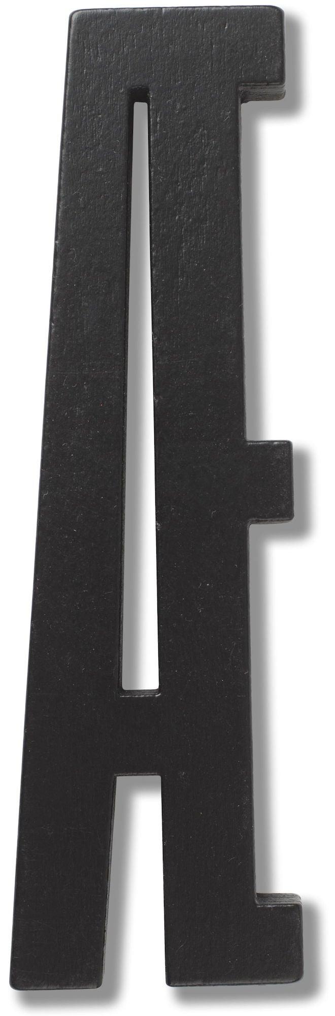 Design Letters Bogstav Træ, Black Æ