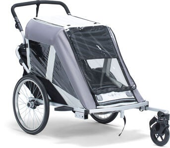 North 13.5 Roadster+ Cykeltrailer, Grey