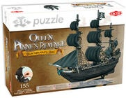 Tactic Puslespil 3D The Queen Anne's Revenge