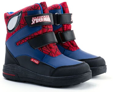 Marvel Spider-Man Vinterstøvler, Black/Blue