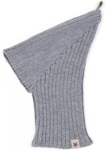 Huttelihut Pixie Elefanthue Balaclava, Light Grey