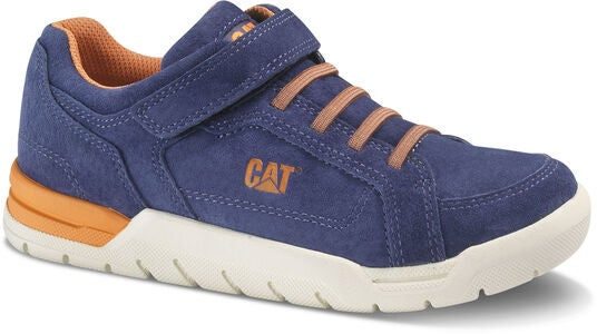 Caterpillar Ripcord Sneakers, Blue/Orange