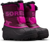 Sorel Children's Snow Commander Vinterstøvler, Purple Dahlia