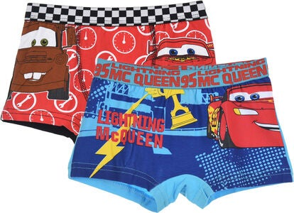 Disney Cars Boksershorts, Blå/Sort