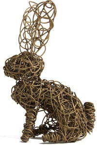 Adore Us Wire Words Bunny, Guld