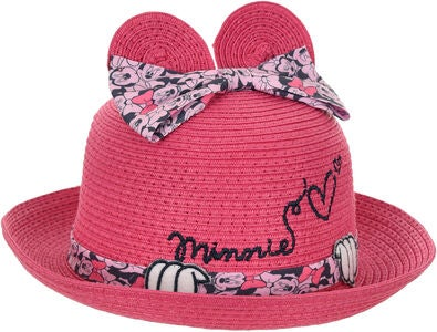 Disney Minnie Mouse Hat, Rosa