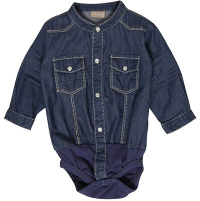 6de5b595c40 Køb Hust & Claire Body Skjorte, Denim | Jollyroom