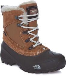 15b76f81a74 The North Face Youth Shlista Extreme Vinterstøvler, Brown/Black