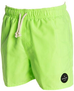 Rip Curl Solid Volley Boardshorts 13 tum, Green