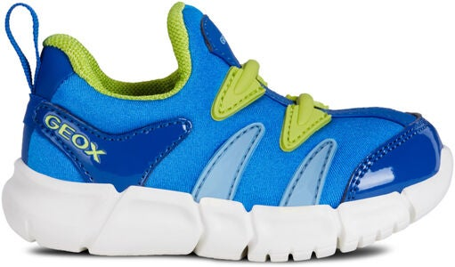 Geox Flexyper Sneakers, Sky/Lime